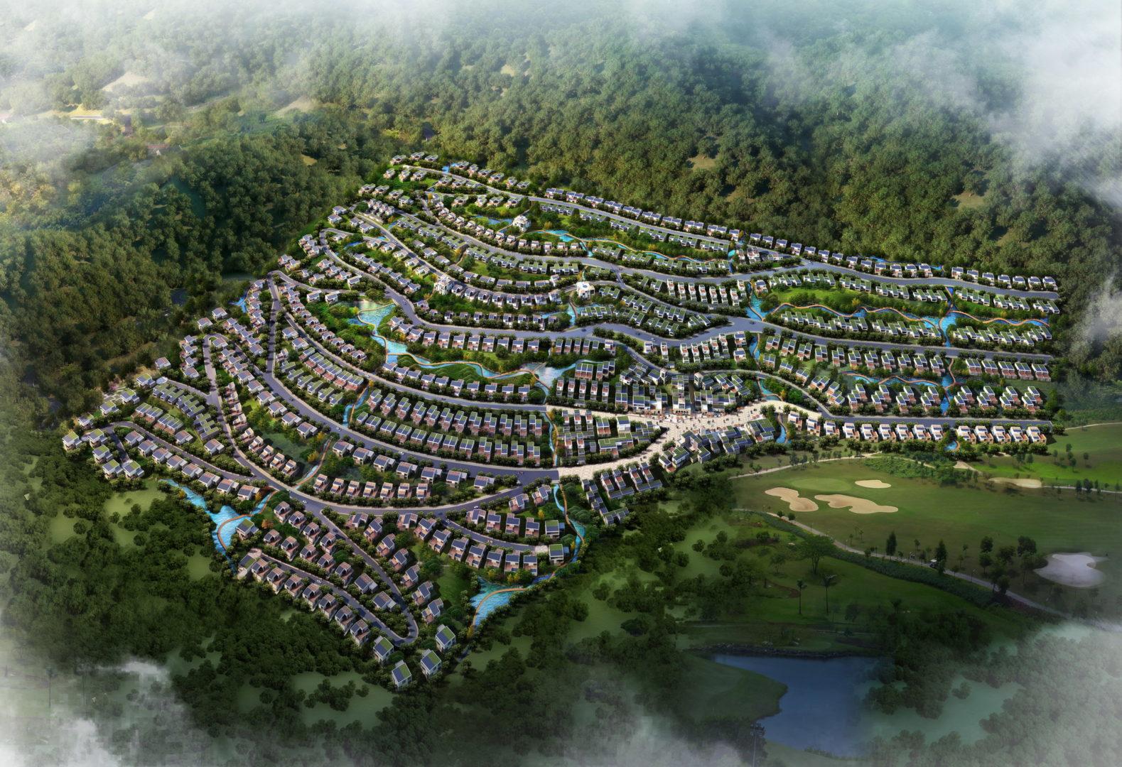 Golf Village Dali 12