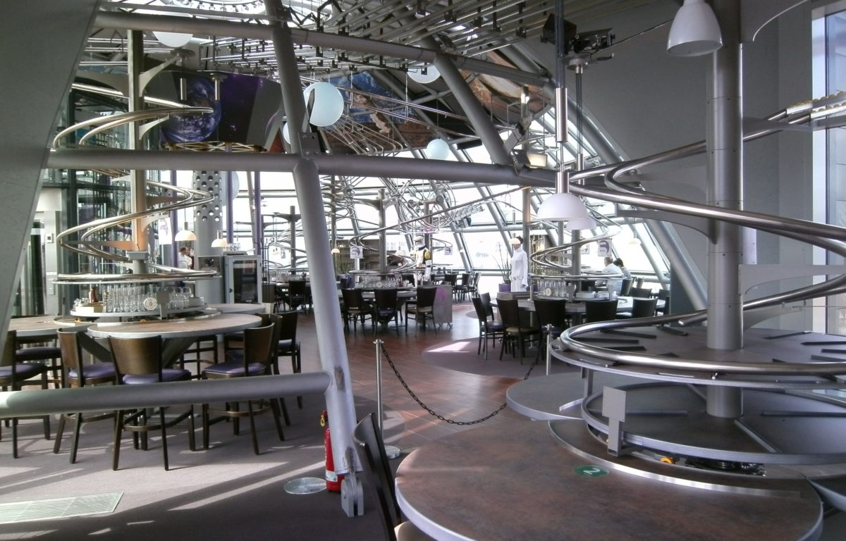 Rollercoaster Restaurant Dresden