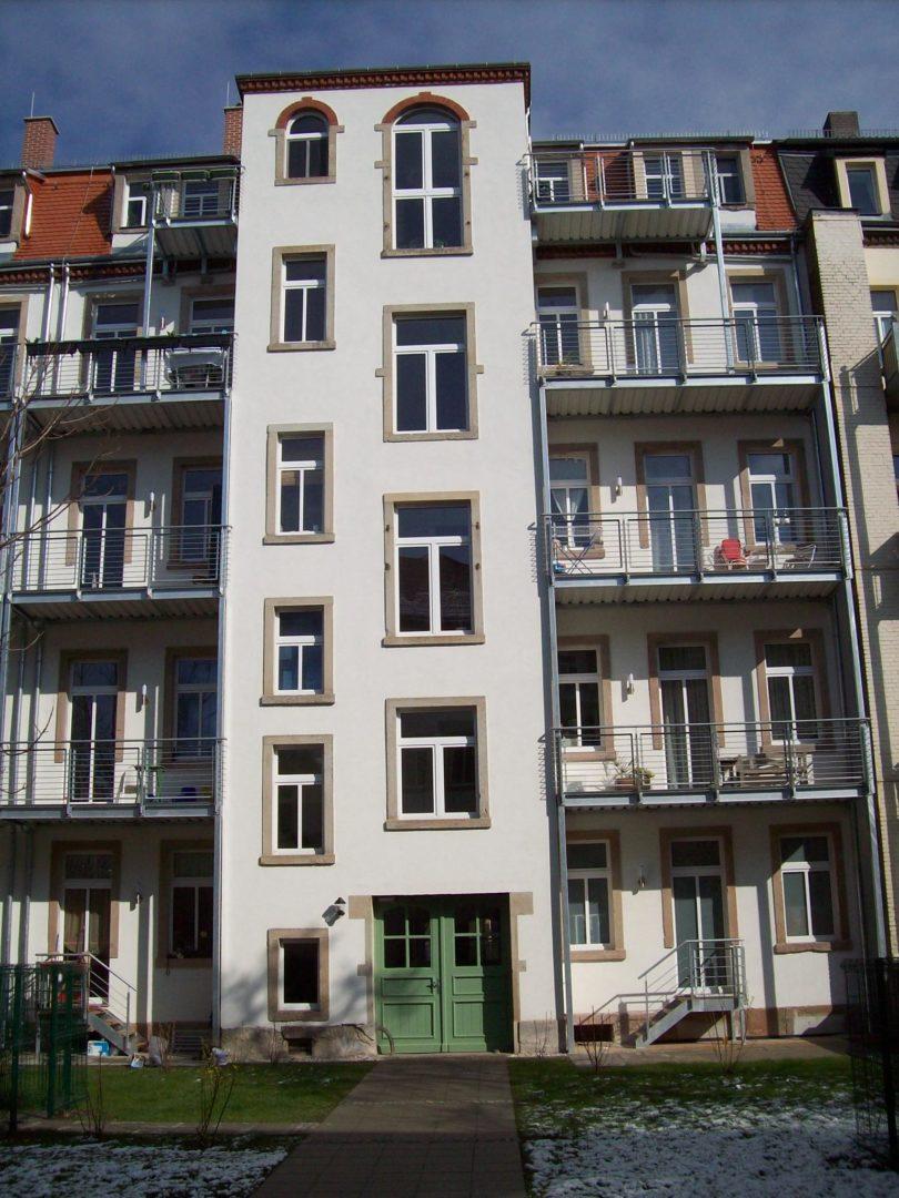 Lößnitz大街15、17号改建
