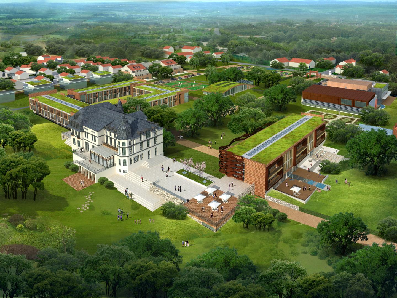 德国Pötenitz 皇宫酒店及会议中心规划
