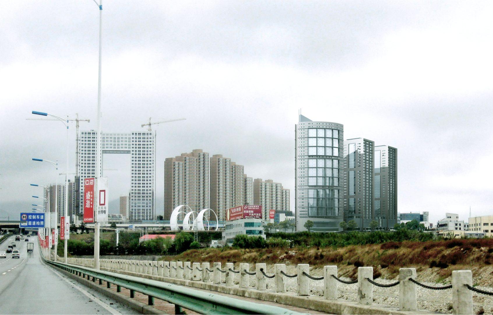 城市商业居住综合体